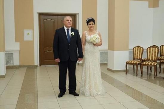 Голунова с женихом