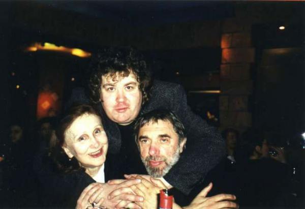 Эдуард Артемьев с семьей