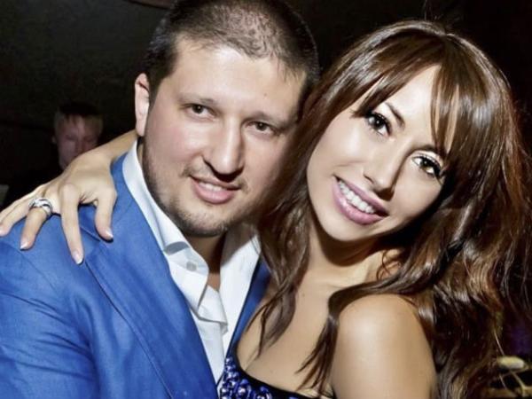 Ренат Агзамов с женой