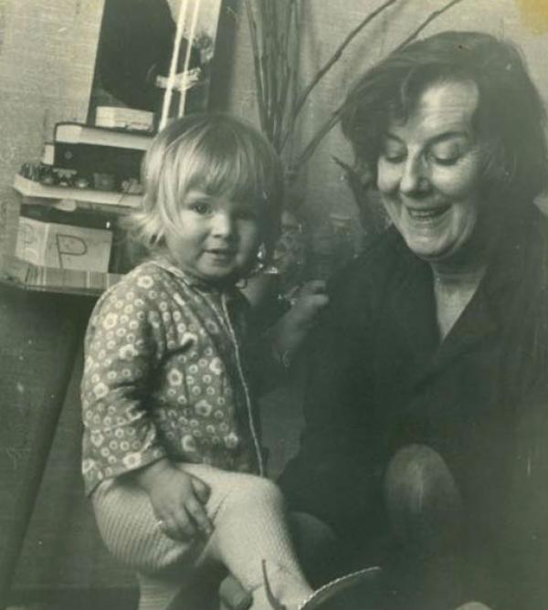 Анна Терехова с бабушкой