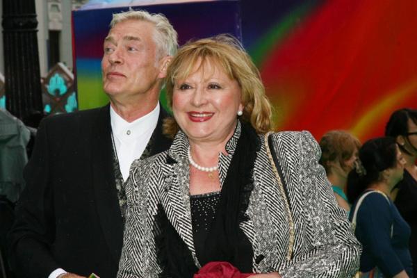 Борис Щербаков с женой