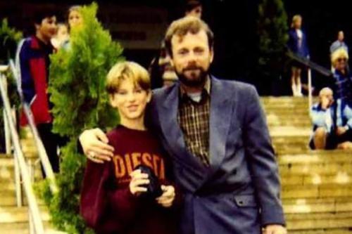 Николай Гнатюк с сыном Олесем