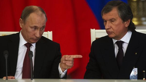 Сечин и Путин