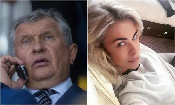 Ольга Рожкова и Игорь Сечин