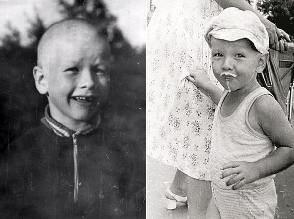 Никита Панфилов в детские годы