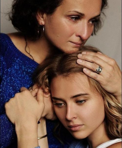 Ксения Соколова с мамой