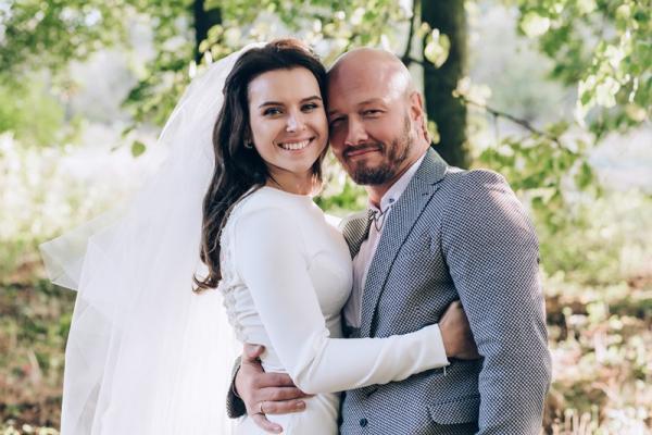 Свадебная фотография Ксении Соколовой и Никиты Панфилова