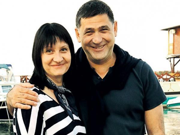 Сергей Пускепалис с женой Еленой