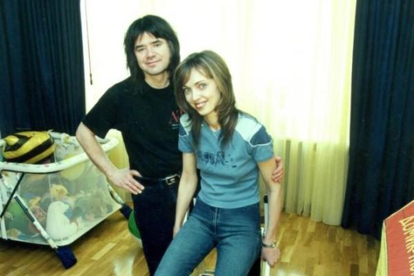 Евгений Осин с первой женой