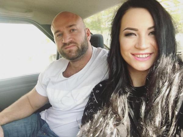 Ида Галич с бывшим парнем Дмитрием Дизелем