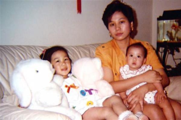 Присцилла Чан в детстве