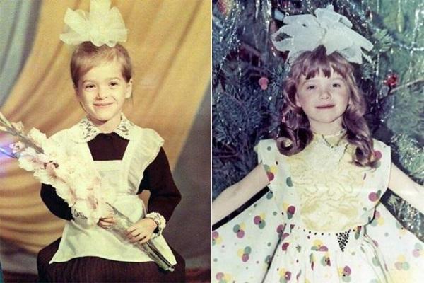Детские фото Елены Темниковой