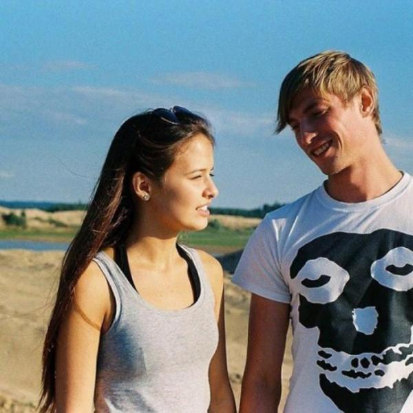 Любовь Аксенова с мужем