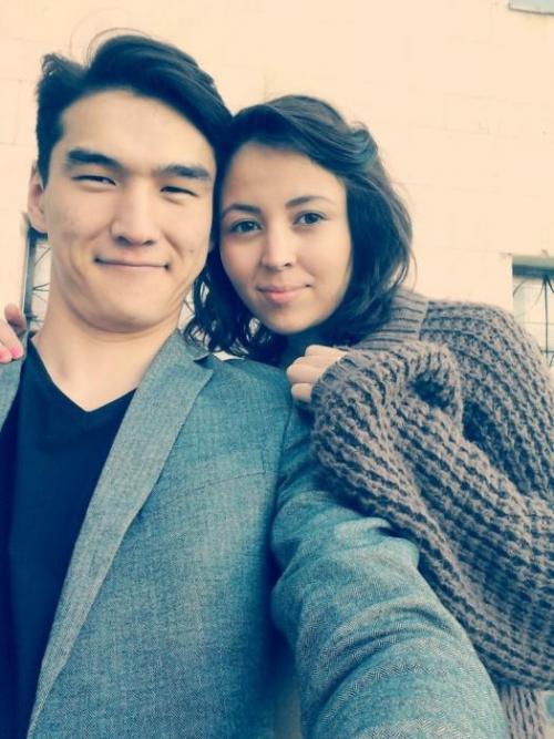 Нурлан и его жена Диана