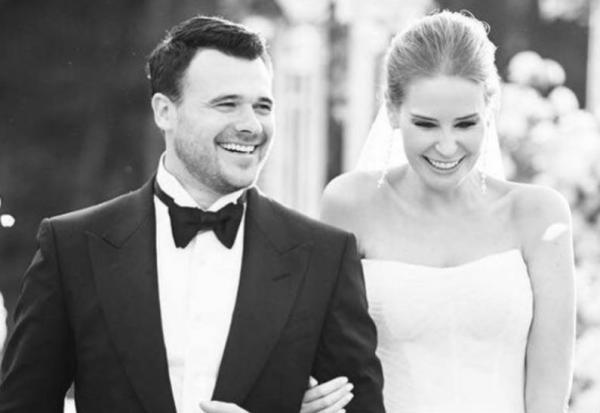 Свадебное фото Эмина Агаларова и Алены Гавриловой