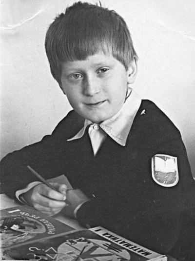 Андрей Рожков в детстве