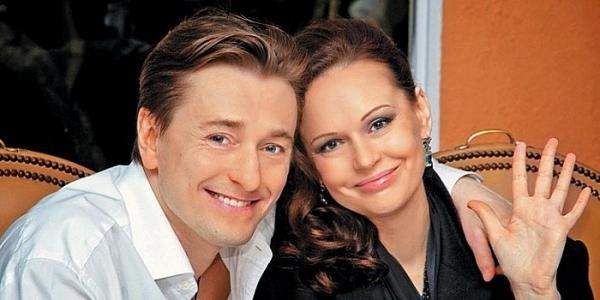Безруков с женой Ириной