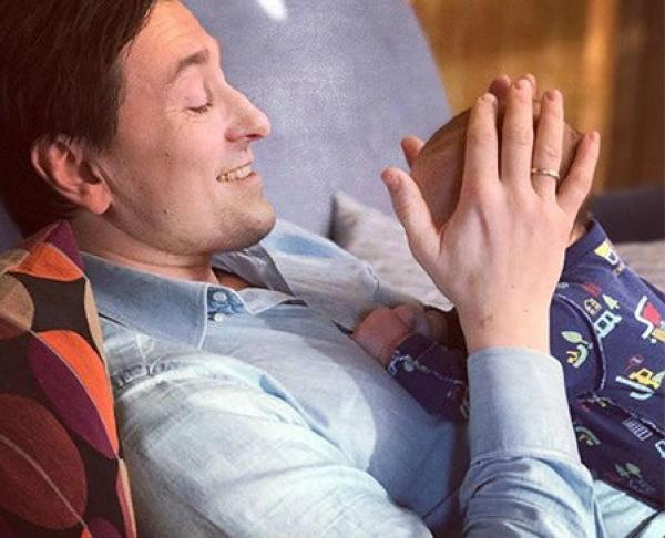 Безруков с сыном Степаном