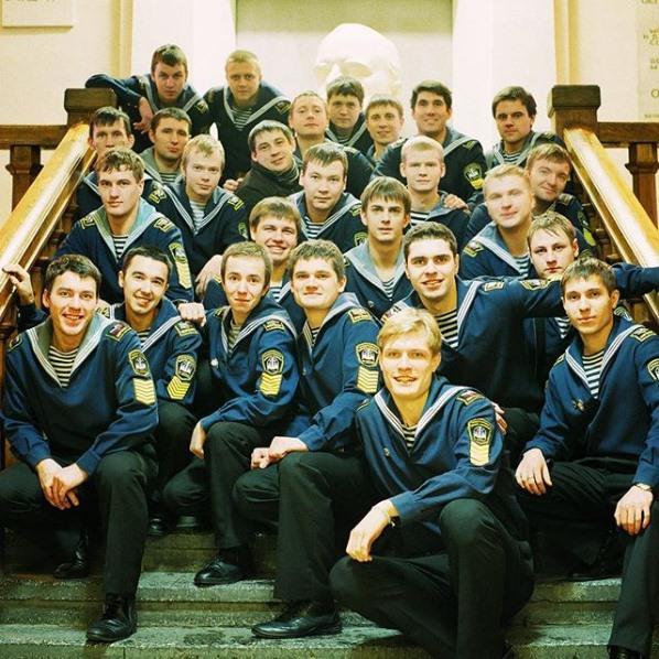 Кирилл Зайцев во время учебы в мореходной академии
