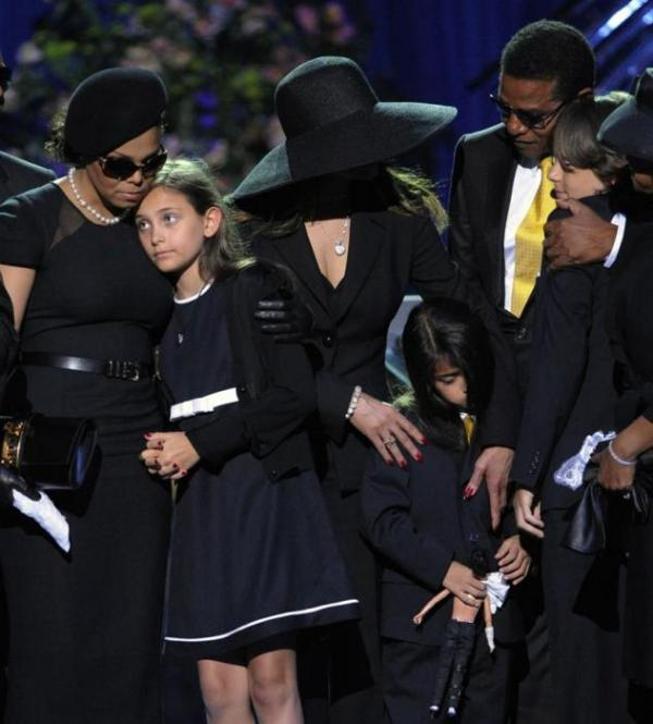 Прощальная речь дочери певца Пэрис Джексон