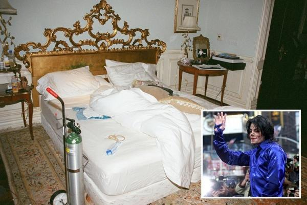 Фотография спальни певца
