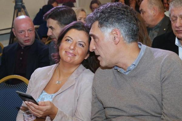 Маргарита Симоньян и ее муж