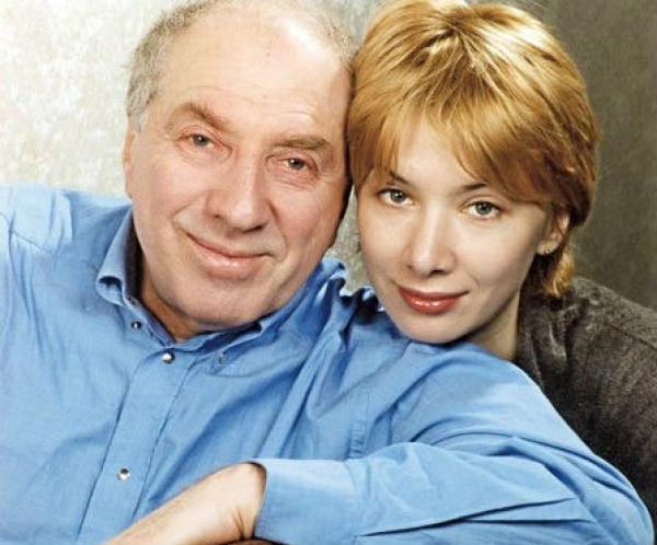 Сергей Юрский с дочерью Дашей