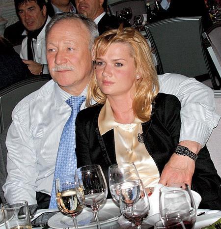 Светлана Хоркина с мужем