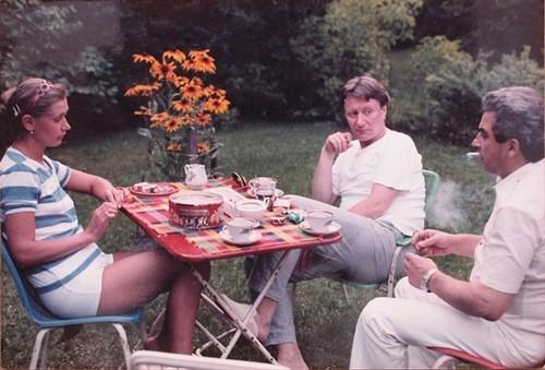 Андрей Миронов с друзьями
