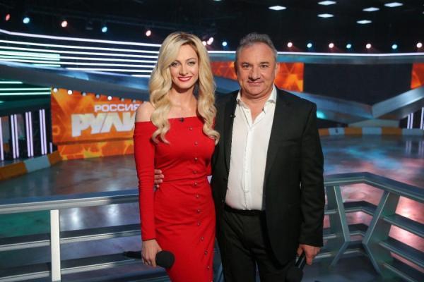 Полина Максимова и Николай Фоменко