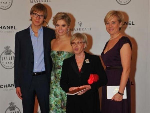 Варвара Владимирова с семьей
