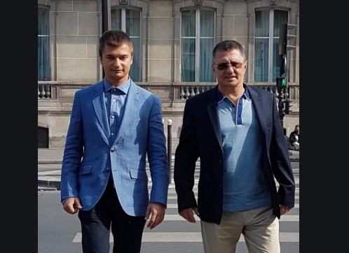 Доктор Мясников с сыном Леонидом