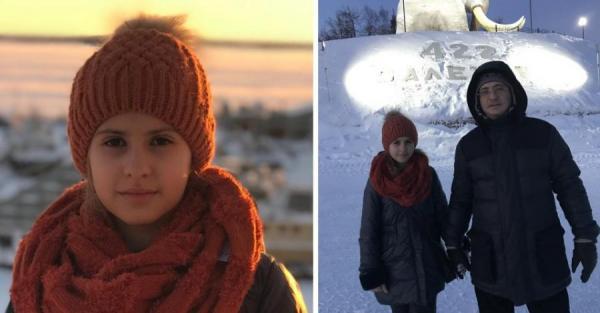 Мясников с дочерью Полиной