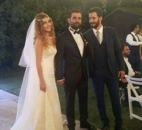 Барыш Ардуч на свадьбе брата