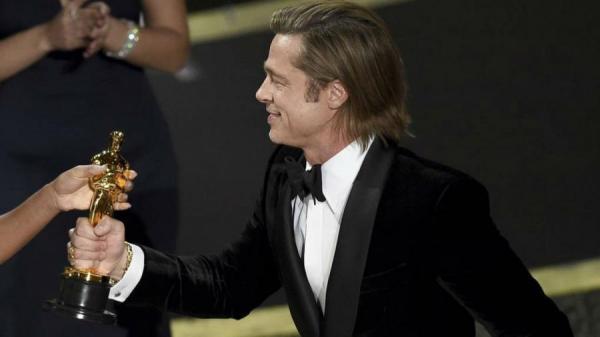Брэд Питт получил Оскар