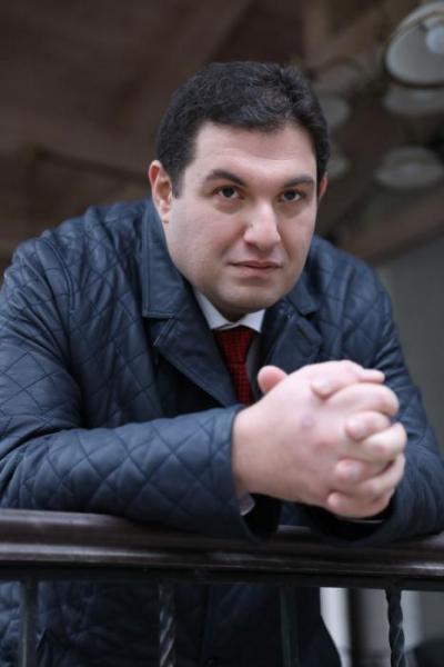 Российский предприниматель Денис Кацыв