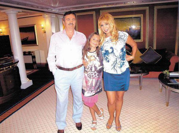Лидия Ермакова с родителями
