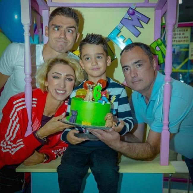Семья Лилии Абрамовой