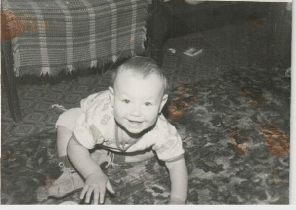 Нилетто в детстве