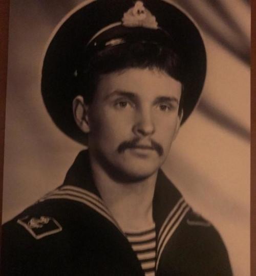 Виктор Рыбин в молодости