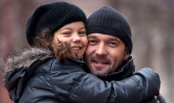 Трубинер Павел с дочкой