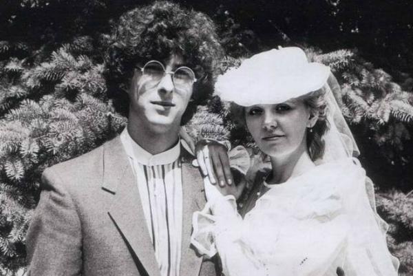 Валерия с первым супругом Леонидом Ярошевским