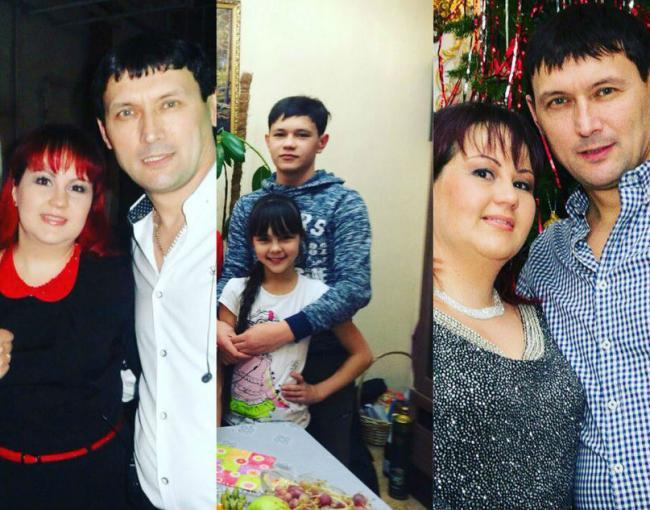 Семья Анвара Нургалиева