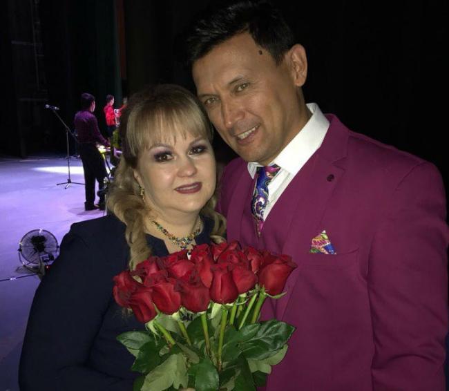 Анвар Нургалиев с женой