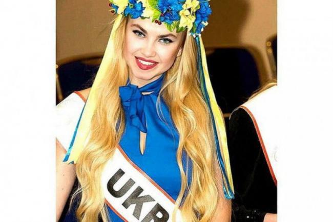 Дарья Шейко на конкурсе красоты