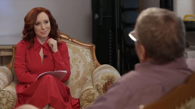 На съемках передачи «А поговорить?»