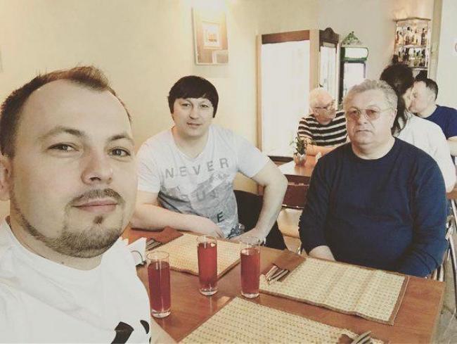 Ярослав Сумишевский с семьей