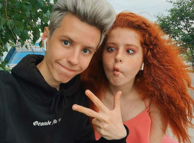 Илья Буяков и Лиза Стриж