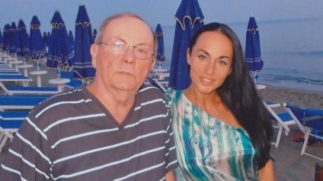 Ирина Волк с отцом