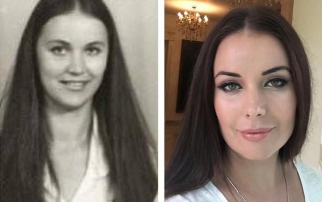 Оксана Федорова и ее мать
